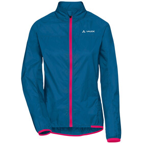 VAUDE Air III Jas Dames, kingfisher/pink